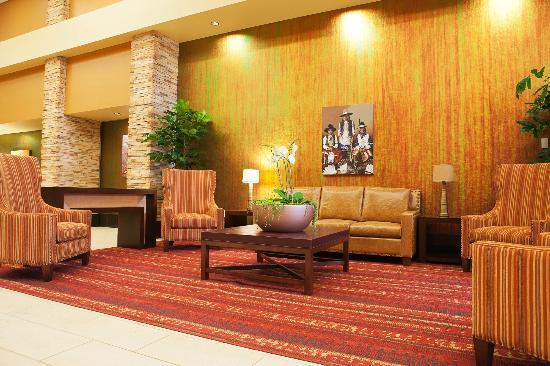شوشون بانوك هوتل: Hotel Lobby