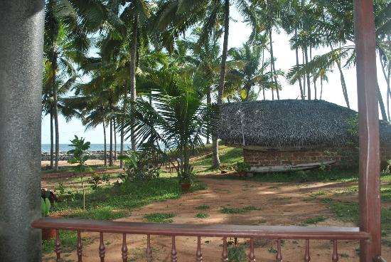 Maadathil Cottages - view from porch