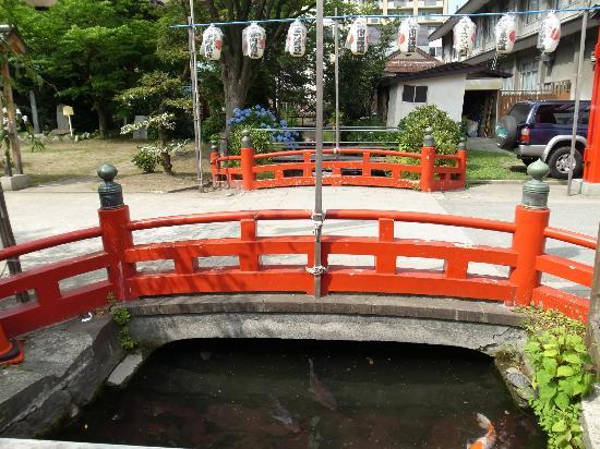 Utou Jinja: 橋
