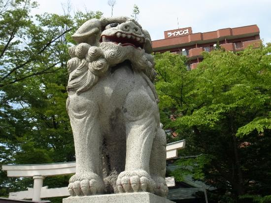Utou Jinja: 狛犬