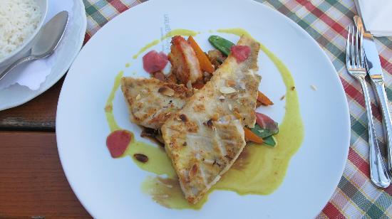 Hotel Fruhlingsgarten : Grilled fish with jasmin rice