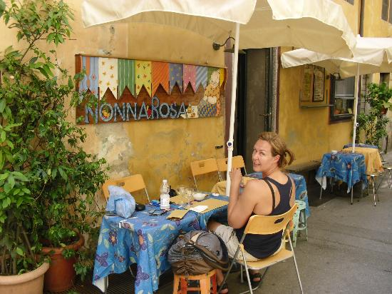 Hotel La Torre : Lunch in Lucca