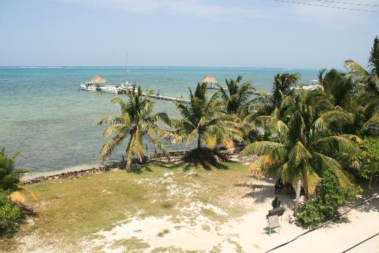 ‪‪Caye Caulker Condos‬: View from rooftop terrace