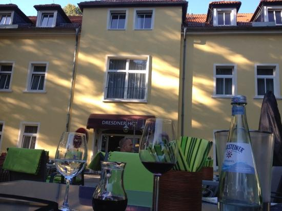 Hotel Dresdner Hof Zittau: outside