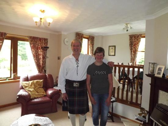 Glen Rowan Guest House: Nogmaals Alister