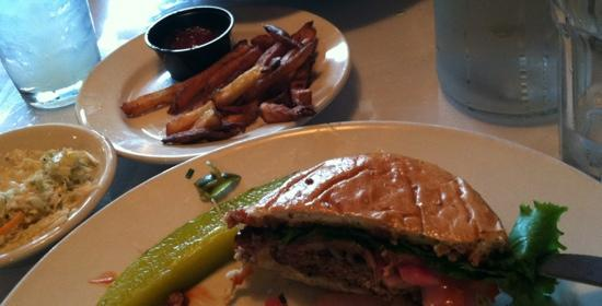 Two Brothers Tavern: burger was perfect!