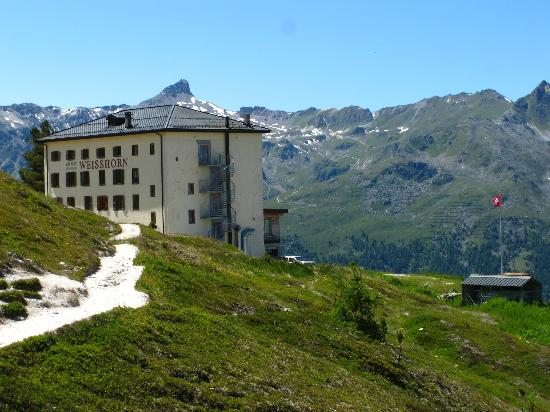 Hotel Weisshorn St Luc