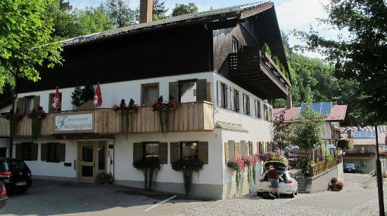 Hotel Fruhlingsgarten : Indgang