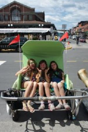 Ottawa Rickshaws: More satisfied customers!