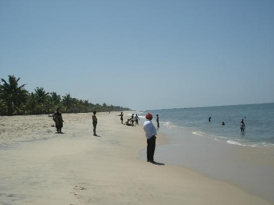 Marari Beach: The total beach public