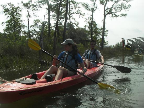 Kayak Nature Tours Ltd Kayaking At First Landing State Park In Virginia Beach