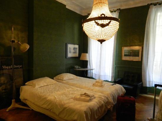La Pension Edelweiss: Twin Room