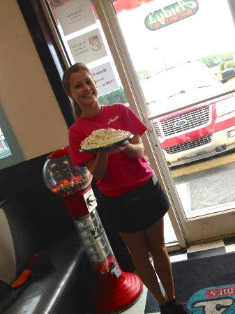 Andy's Cheesesteaks & Cheeseburgers: Andy's Waitress with Pie