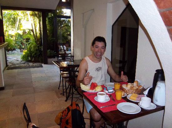 Pousada Villegaignon: Desayuno