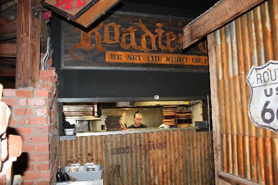 The Rock Wood Fired Pizza : Roadies Grill