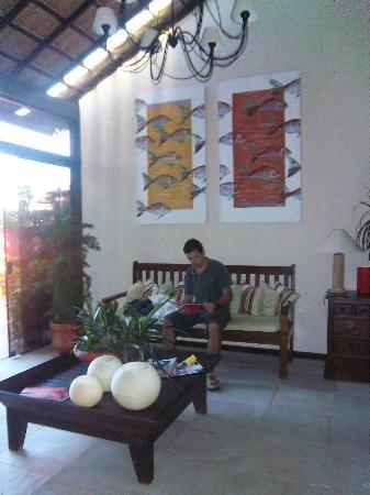 Pousada Villegaignon: Sala de estar