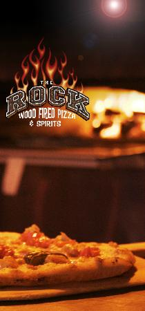 The Rock Wood Fired Pizza: Hell yah, that's good pizza!