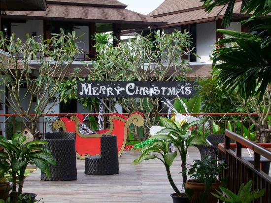The Elements Krabi Resort: Nice Christmas touch :)