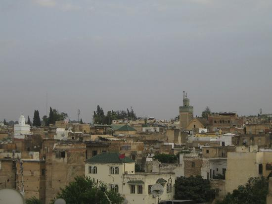 Riad Ahlam: View from roor