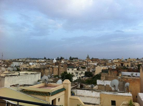 Riad Ahlam: View from roof