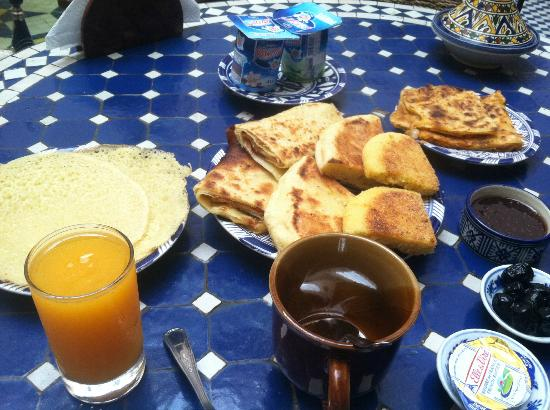 Riad Ahlam: I want this breakfast again!
