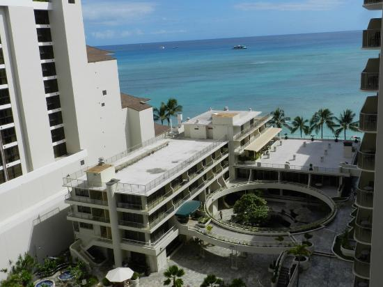 Outrigger Reef Waikiki Beach Resort View From Partial Room