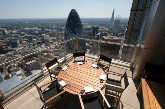 The terrace at sushisamba london picture of sushisamba for Top of the terrace restaurant