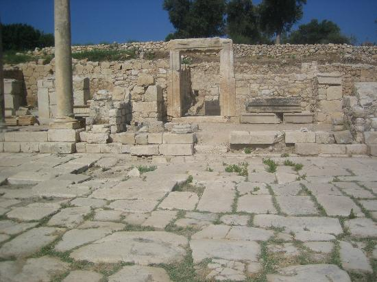 Patara Ruins: Main street and houses