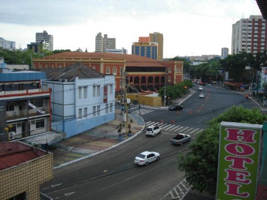 Hotel Veneza Manaus : View from veranda over downtown Manaus