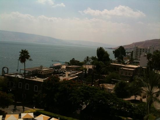 Leonardo Plaza Hotel Tiberias: the view from my room