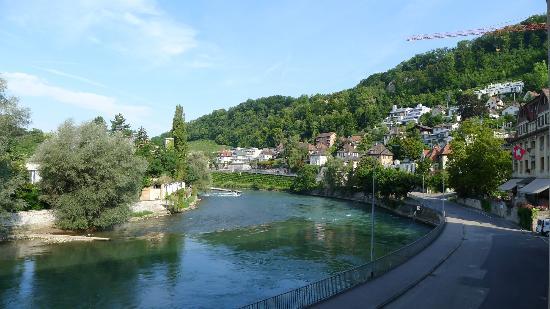 Limmathof Baden Hotel & Spa: Aussicht vom Zimmer 119