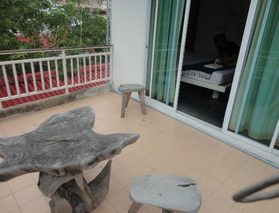 Sand Inn: Balcony