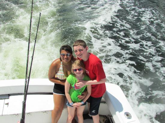 Fish Local Knowledge: Three happy kids
