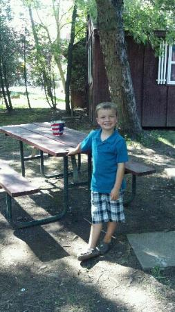 Campark Resorts: Ethan loves camping !