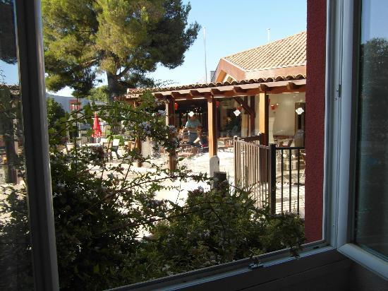 Ibis Avignon Sud : vista finestra