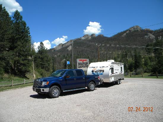Horse Thief Campground and RV Resort: entrance