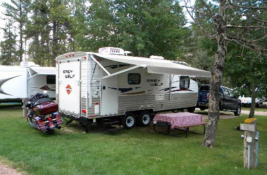 Horse Thief Campground and RV Resort: campsights