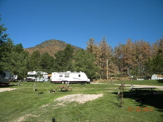 Horse Thief Campground: campsights
