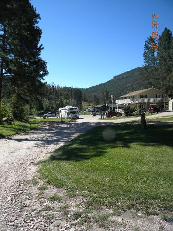 Horse Thief Campground and RV Resort: a view from above