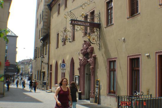Ratskeller Wurzburg: Ratskeller restaurant