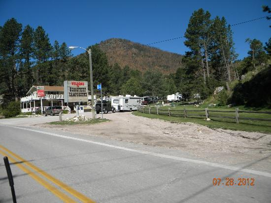 Horse Thief Campground: view of entrance