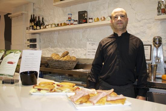 Hostaria Marchese del Porto : un simpatico proprietario