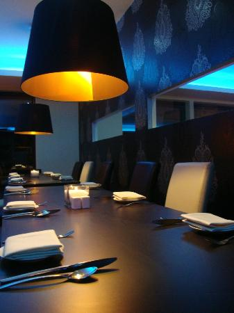 MaCh Restaurant: Private Dining area