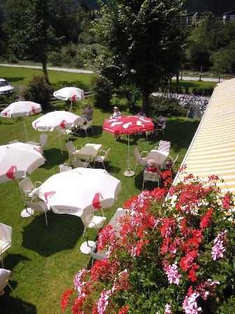 Cafe Pension Wiesenhof: Gastgarten, Garden