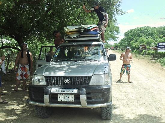 Club Surf Popoyo: 4x4