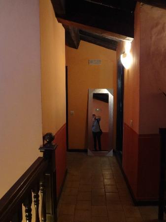 Hospederia El Batan: Interior