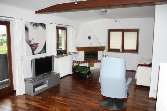 Gartenhotel Toni: Living area