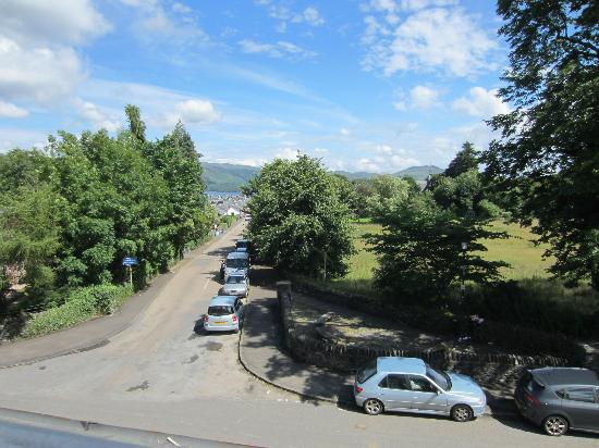 Loch Lomond Arms Hotel: View from a room