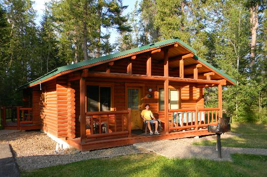 North Forty Resort: Our cabin in the woods!