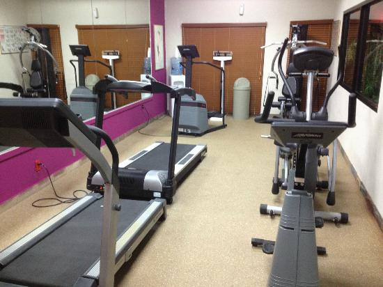 Ramada Plaza Conference Center Cranbury South Brunswick: GYM
